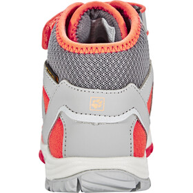 Jack Wolfskin Portland Texapore Mid - Chaussures Enfant - gris/orange
